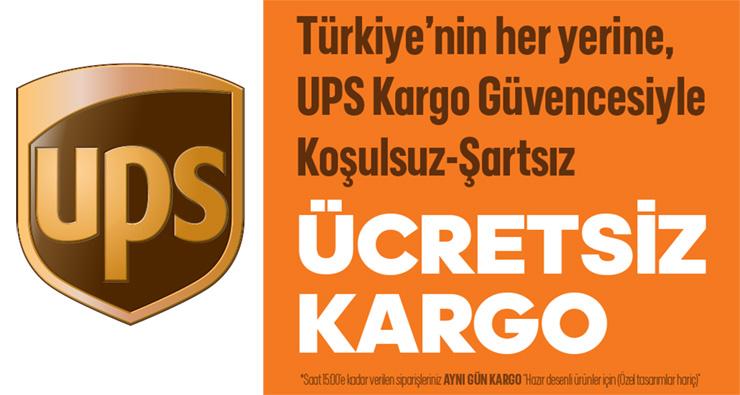 Tüm Türkiye'ye Ücretsiz Kargo