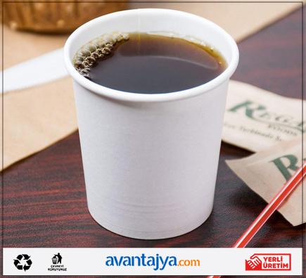 Avantajya.com Düz Beyaz Karton Bardak İmalatı