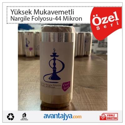 Özel Seri Alüminyum Nargile Folyosu 44 Mikron 12 Cm. x 12 Mt. 50 Adet