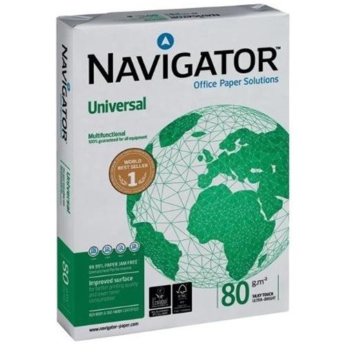 Navigator 80gr. / m² A4 Fotokopi Kağıdı 5'li Paket (1 Koli)